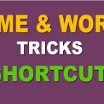 Aptitude Shortcut methof For Time and Work Problems