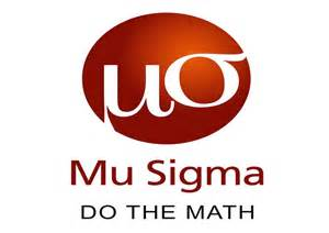 mu sigma business solutions placement papers