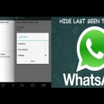 Hide Profile Picture, Status and Last Seen Time in Android Mobile Device, Whatsapp New Feature